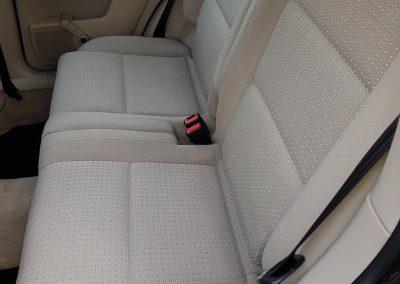 Audi A2 – czyszczenie tapicerki
