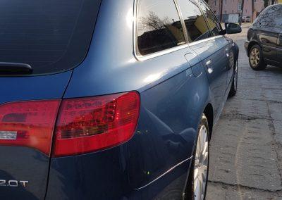 Audi A4 – mycie kompletne wosk