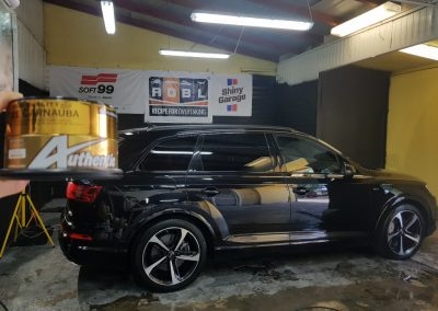 Audi SQ7 V8T – Mycie detailingowe Wosk Soft 99 Dokładne czyszczenie wnętrza
