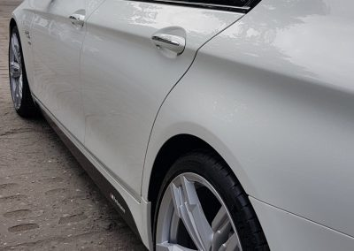 BMW 5 - Mycie detailingowe + Jednoetapowa korekta lakieru + Wosk Soft992