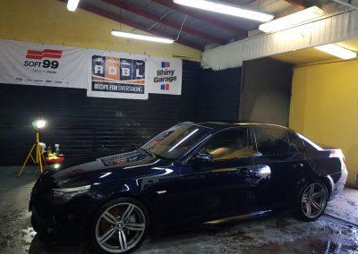 BMW 5 - Mycie detailingowe + korekta lakieru + Wosk Soft99 + Czyszczenie i konserwacje skór4