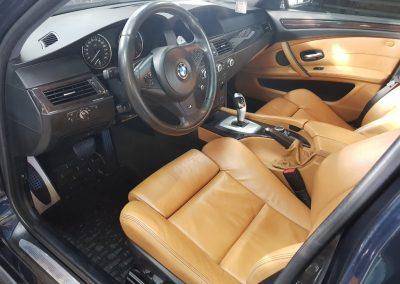 BMW 5 - Mycie detailingowe + korekta lakieru + Wosk Soft99 + Czyszczenie i konserwacje skór7