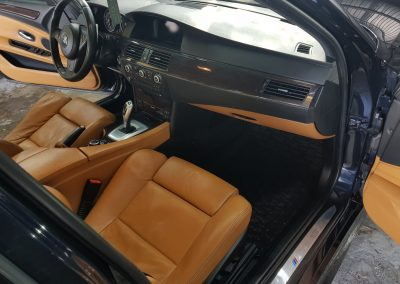 BMW 5 - Mycie detailingowe + korekta lakieru + Wosk Soft99 + Czyszczenie i konserwacje skór8