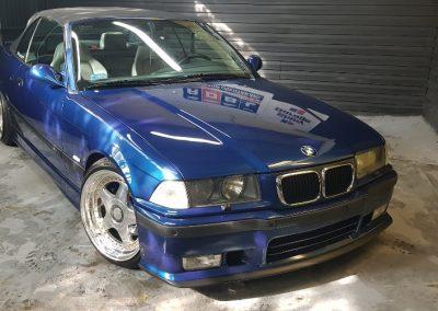 BMW E36 - Mycie detailingowe + Korekta lakieru + Wosk Soft99 + Dokładne czyszczenie wnętrza12