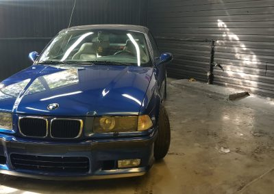 BMW E36 - Mycie detailingowe + Korekta lakieru + Wosk Soft99 + Dokładne czyszczenie wnętrza14