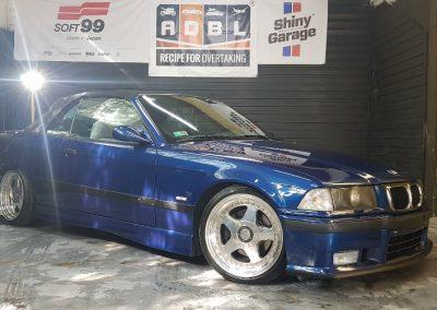 BMW E36 - Mycie detailingowe + Korekta lakieru + Wosk Soft99 + Dokładne czyszczenie wnętrza2