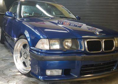 BMW E36 - Mycie detailingowe + Korekta lakieru + Wosk Soft99 + Dokładne czyszczenie wnętrza4
