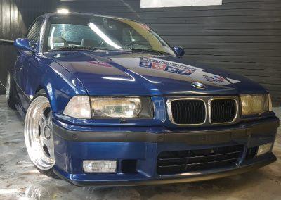 BMW E36 - Mycie detailingowe + Korekta lakieru + Wosk Soft99 + Dokładne czyszczenie wnętrza5