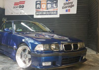 BMW E36 - Mycie detailingowe + Korekta lakieru + Wosk Soft99 + Dokładne czyszczenie wnętrza6