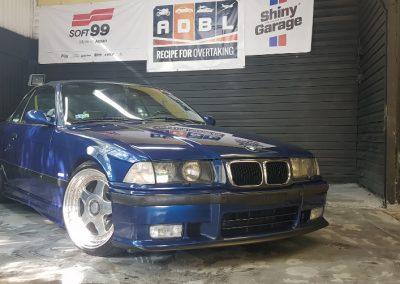 BMW E36 - Mycie detailingowe + Korekta lakieru + Wosk Soft99 + Dokładne czyszczenie wnętrza7