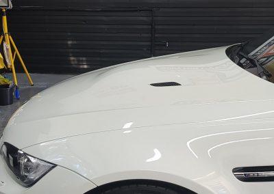 BMW M3 – Mycie detailingowe + Jednoetapowa korekta lakieru + Wosk Soft99 + dokładne czyszczenie wnętrza
