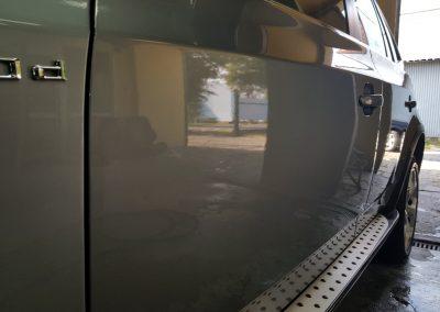 BMW X5 - Jednoetapowa korekta lakieru + wosk Soft 99 + detailingowe czyszczenie wnętrza4