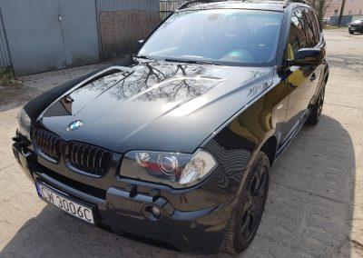 BMW X5 – korekta lakieru + wosk