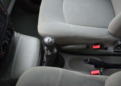 Czyszczenei tapicerki we wnętrzu samochodu