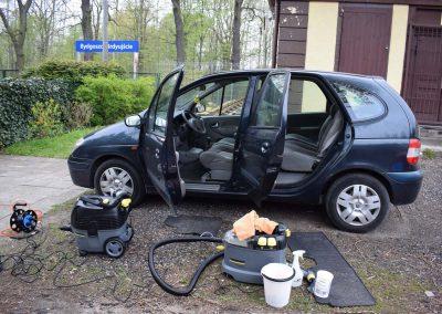 Pranie auta Renault Scenic w Bydgoszczy