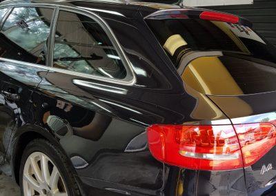 Audi S4 - Jednoetapowa korekta lakieru + wosk Soft99 + Pranie i czyszczenie wnętrza5