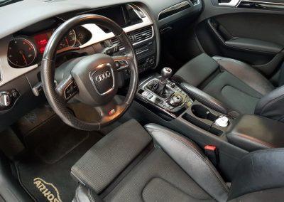 Audi S4 - Jednoetapowa korekta lakieru + wosk Soft99 + Pranie i czyszczenie wnętrza8