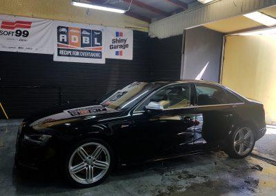 Audi S4 - Mycie detailingowe + wosk Soft99 + dokładne czyszczenie wnętrza