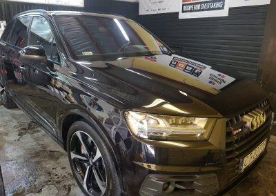 Audi SQ7 V8T - Mycie detailingowe + Wosk Soft 99 + Dokładne czyszczenie wnętrza4