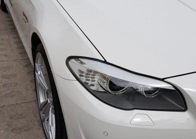 BMW 5 - Mycie detailingowe + korekta lakieru + Wosk Soft99 + Czyszczenie i konserwacje skór