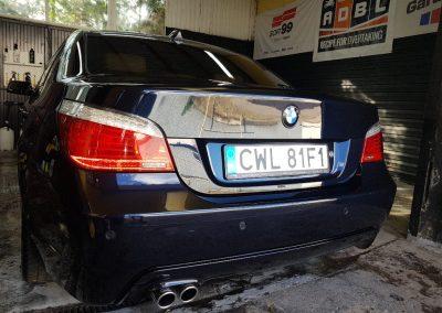 BMW 5 - Mycie detailingowe + korekta lakieru + Wosk Soft99 + Czyszczenie i konserwacje skór5