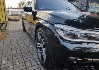 BMW 7 – Mycie detailingowe, wosk Soft99,czyszczenie i zabezpieczenie skór