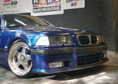 BMW E36 - Mycie detailingowe + Korekta lakieru + Wosk Soft99 + Dokładne czyszczenie wnętrza13