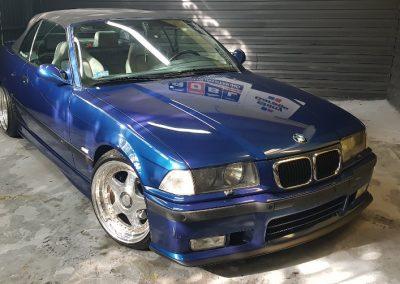 BMW E36 – Mycie detailingowe + Korekta lakieru + Wosk Soft99 + Dokładne czyszczenie wnętrza