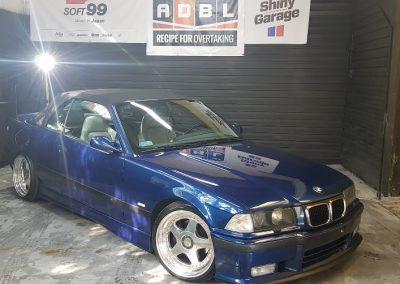 BMW E36 - Mycie detailingowe + Korekta lakieru + Wosk Soft99 + Dokładne czyszczenie wnętrza3