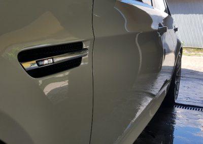 BMW M3 - Mycie detailingowe + Jednoetapowa korekta lakieru + Wosk Soft99 + Dokladne czyszczenie wnętrza3