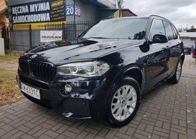 BMW X5 - korekta lakieru + czyszczenie wnętrza2