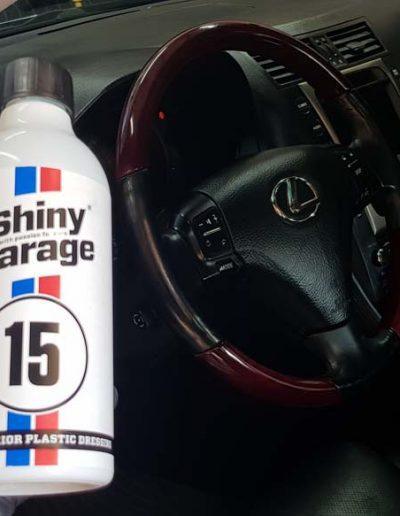 Lexus - Pełna korekta lakieru + Mycie detailingowe + Czyszczenie i konserwacja skór + dokładne czyszczenie wnętrza